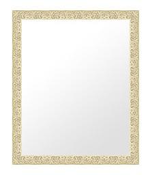 シルバー 銀 銀箔 仕立ての 鏡 ミラー 壁掛け鏡 壁掛けミラー ウオールミラー:bol6s-w353mmxh455mmxd24mm-se(フレームミラー 壁掛け 壁付け 姿見 姿見鏡 壁 おしゃれ エレガント 化粧鏡 アンティーク 玄関 玄関鏡 洗面所 トイレ 寝室 )