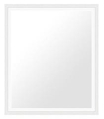 白 ホワイト ホワイト色 の 鏡 ミラー 壁掛け鏡 壁掛けミラー ウオールミラー:mil33wh-w461mmxh562mmxd21mm-se(フレームミラー 壁掛け 壁付け 姿見 姿見鏡 壁 おしゃれ エレガント 化粧鏡 アンティーク 玄関 玄関鏡 洗面所 トイレ 寝室 )