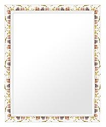 ユニークな色 の 鏡 ミラー 壁掛け鏡 壁掛けミラー ウオールミラー:sv1270iv-w479mmxh580mmxd20mm-se(フレームミラー 壁掛け 壁付け 姿見 姿見鏡 壁 おしゃれ エレガント 化粧鏡 アンティーク 玄関 玄関鏡 洗面所 トイレ 寝室 )