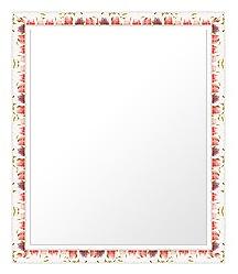 ユニークな色 の 鏡 ミラー 壁掛け鏡 壁掛けミラー ウオールミラー:sv1270wh-w479mmxh580mmxd20mm-se(フレームミラー 壁掛け 壁付け 姿見 姿見鏡 壁 おしゃれ エレガント 化粧鏡 アンティーク 玄関 玄関鏡 洗面所 トイレ 寝室 )