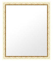 鏡 ミラー 壁掛け鏡 ウォールミラー:lm513gwh-w363mmxh465mmxd25mm-se