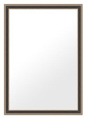 鏡 ミラー 壁掛け鏡 ウォールミラー(特大サイズ):ms500bl-w736mmxh986mmxd21mm-se