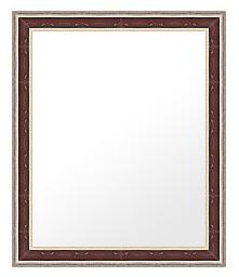 鏡 ミラー 壁掛け鏡 ウォールミラー:ms500br-w493mmxh594mmxd21mm-se