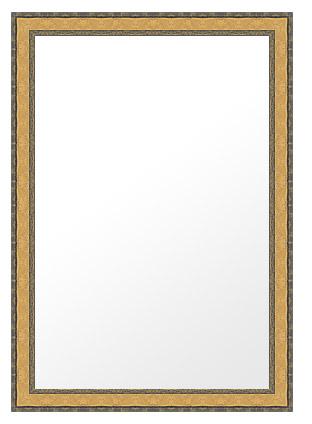 鏡 ミラー 壁掛け鏡 ウォールミラー(特大サイズ):lm533g-w768mmxh1018mmxd24mm-se