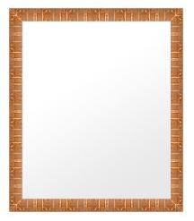鏡 ミラー 壁掛け鏡 ウォールミラー:ms340g-w359mmxh461mmxd32mm-se
