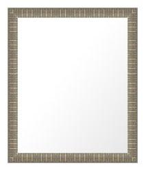 鏡 ミラー 壁掛け鏡 ウォールミラー:ms340s-w359mmxh461mmxd32mm-se