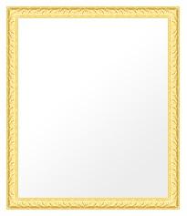 ゴールド 金 金箔 仕立ての 鏡 ミラー 壁掛け鏡 壁掛けミラー ウオールミラー:bol8g-w443mmxh544mmxd25mm-se(フレームミラー 壁掛け 壁付け 姿見 姿見鏡 壁 おしゃれ エレガント 化粧鏡 アンティーク 玄関 玄関鏡 洗面所 トイレ 寝室 )