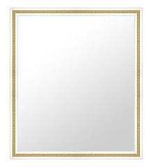 白 ホワイト ホワイト色 の 鏡 ミラー 壁掛け鏡 壁掛けミラー ウオールミラー:A-20156-451mmxh552mm(フレームミラー 壁掛け 壁付け 姿見 姿見鏡 壁 おしゃれ エレガント 化粧鏡 アンティーク 玄関 玄関鏡 洗面所 トイレ 寝室 )