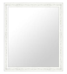 白 ホワイト ホワイト色 の 鏡 ミラー 壁掛け鏡 壁掛けミラー ウオールミラー:B-20153-365mmxh467mm(フレームミラー 壁掛け 壁付け 姿見 姿見鏡 壁 おしゃれ エレガント 化粧鏡 アンティーク 玄関 玄関鏡 洗面所 トイレ 寝室 )