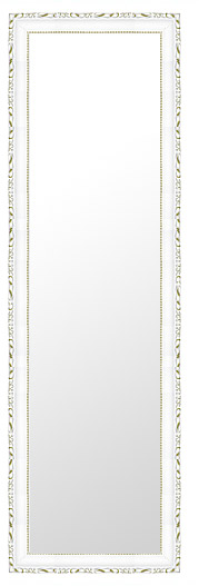 鏡 ミラー 壁掛け鏡 壁掛けミラー ウオールミラー:D-20160-394mmxh1294mm(フレームミラー 壁掛け 壁付け 姿見 姿見鏡 壁 おしゃれ エレガント 化粧鏡 アンティーク 玄関 玄関鏡 洗面所 トイレ 寝室 額 フレーム 額縁 )