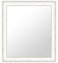 白 ホワイト ホワイト色 の 鏡 ミラー 壁掛け鏡 壁掛けミラー ウオールミラー:D-20160-399mmxh501mm(フレームミラー 壁掛け 壁付け 姿見 姿見鏡 壁 おしゃれ エレガント 化粧鏡 アンティーク 玄関 玄関鏡 洗面所 トイレ 寝室 )