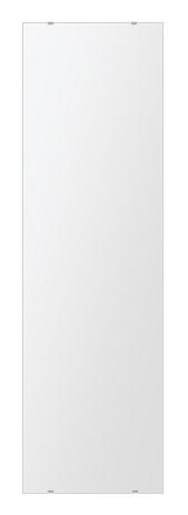 トイレ 鏡 400x1450mm 長方形 シンプルカット トイレ鏡 鏡 トイレ 壁掛け ミラー 壁掛け 日本製 5mm厚 取付金具と説明書 壁掛け鏡 壁に直付け ウオールミラー 姿見 鏡 全身 おしゃれ 軽量 角型 四角 四角形