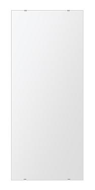 鏡 壁掛け 鏡 ミラー 日本製 四角形 鏡 500mmx1180mm クリアーミラー シンプルタイプ 国産 フレームレスミラー 壁掛け鏡 壁掛けミラー ウォールミラー 姿見 姿見鏡 インテリアミラー (リビング、玄関、廊下、寝室など一般空間用)