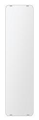 飛散防止加工 鏡 ミラー 安心 安全 クリスタルミラー シリーズ:b-cm-h-s-30r-200mmx800mm-HS(角丸四角形)(クリアーミラー 30R シンプルタイプ)日本製 アイビーオリジナル洗面 浴室 風呂 トイレ 水廻り 壁掛け 姿見 鏡 専用取付金具付き