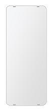 洗面鏡 浴室鏡 トイレ鏡 化粧鏡 日本製 角丸四角形 284mmx700mm クリアーミラー 30Rシンプルタイプ 国産 フレームレスミラー 風呂 鏡 壁掛け鏡 壁掛けミラー ウオールミラー 姿見 姿見鏡 ミラー