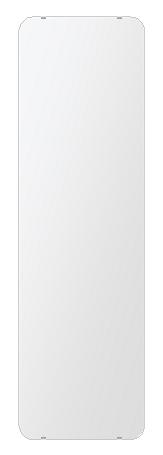 洗面鏡 浴室鏡 トイレ鏡 化粧鏡 日本製 角丸四角形 444mmx1494mm クリアーミラー 30Rシンプルタイプ 国産 フレームレスミラー 風呂 鏡 壁掛け鏡 壁掛けミラー ウオールミラー 姿見 姿見鏡 ミラー