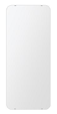 洗面鏡 浴室鏡 トイレ鏡 化粧鏡 日本製 角丸四角形 500mmx1180mm クリアーミラー 30Rシンプルタイプ 国産 フレームレスミラー 風呂 鏡 壁掛け鏡 壁掛けミラー ウオールミラー 姿見 姿見鏡 ミラー