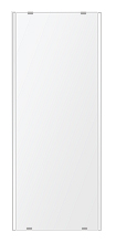 トイレ鏡 洗面鏡 化粧鏡 浴室鏡 クリスタルミラー シリーズ:b-cm-h-2m-284mmx700mm(長方形 正方形)(クリアーミラー 左右クリスタルカットタイプ)