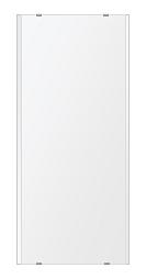 トイレ鏡 洗面鏡 化粧鏡 浴室鏡 クリスタルミラー シリーズ:b-cm-h-2m-360mmx800mm(長方形 正方形)(クリアーミラー 左右クリスタルカットタイプ)
