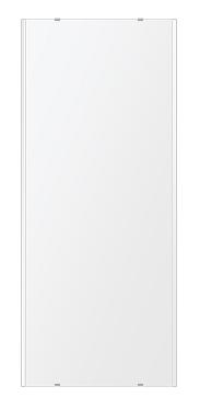 トイレ鏡 洗面鏡 化粧鏡 浴室鏡 クリスタルミラー シリーズ:b-cm-h-2m-500mmx1180mm(長方形 正方形)(クリアーミラー 左右クリスタルカットタイプ)