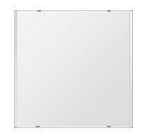 トイレ鏡 洗面鏡 化粧鏡 浴室鏡 クリスタルミラー シリーズ:b-cm-h-2m-600mmx600mm(長方形 正方形)(クリアーミラー 左右クリスタルカットタイプ)