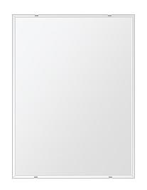 クリスタル ミラー 600x800mm 長方形 クリスタルカット 鏡 壁掛け ミラー 壁掛け 日本製 5mm厚 玄関 リビング 寝室 トイレ 取付金具と説明書 壁掛け鏡 壁に直付け ウオールミラー 姿見 全身 おしゃれ 軽量 角型 四角 四角形