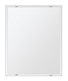 洗面鏡 浴室鏡 トイレ鏡 化粧鏡 日本製 四角形 400mmx500mm クリアーミラー クリスタルカット 国産 フレームレスミラー 風呂 鏡 壁掛け鏡 壁掛けミラー ウオールミラー 姿見 姿見鏡 ミラー