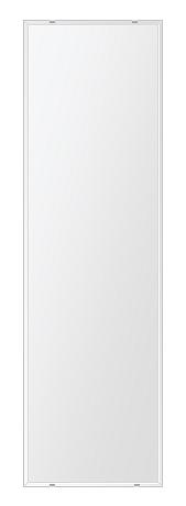 クリスタル ミラー 400x1450mm 長方形 クリスタルカット 鏡 壁掛け ミラー 壁掛け 日本製 5mm厚 玄関 リビング 寝室 トイレ 取付金具と説明書 壁掛け鏡 壁に直付け ウオールミラー 姿見 全身 おしゃれ 軽量 角型 四角 四角形