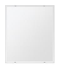 トイレ鏡 洗面鏡 化粧鏡 浴室鏡 クリスタルミラー シリーズ:b-cm-h-4m-549mmx649mm(四角形)(クリアーミラー クリスタルカットタイプ)( 鏡 壁掛け 鏡 姿見 壁掛けミラー ウォールミラー )