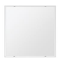 洗面鏡 浴室鏡 トイレ鏡 化粧鏡 日本製 四角形 600mmx600mm クリアーミラー クリスタルカット 国産 フレームレスミラー 風呂 鏡 壁掛け鏡 壁掛けミラー ウオールミラー 姿見 姿見鏡 ミラー