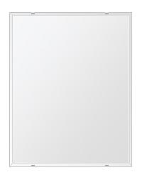 洗面鏡 浴室鏡 トイレ鏡 化粧鏡 日本製 四角形 608mmx760mm クリアーミラー クリスタルカット 国産 フレームレスミラー 風呂 鏡 壁掛け鏡 壁掛けミラー ウオールミラー 姿見 姿見鏡 ミラー