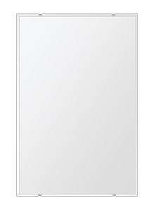 鏡 壁掛け 鏡 ミラー 日本製 四角形 鏡 608mmx912mm クリアーミラー クリスタルカット 国産 フレームレスミラー 壁掛け鏡 壁掛けミラー ウォールミラー 姿見 姿見鏡 インテリアミラー (リビング、玄関、廊下、寝室など一般空間用)