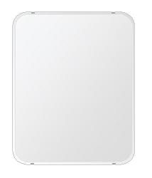 洗面鏡 浴室鏡 トイレ鏡 化粧鏡 日本製 角丸四角形 608mmx760mm クリアーミラー 30Rクリスタルカット 国産 フレームレスミラー 風呂 鏡 壁掛け鏡 壁掛けミラー ウオールミラー 姿見 姿見鏡 ミラー