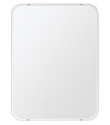 洗面鏡 浴室鏡 トイレ鏡 化粧鏡 日本製 角丸四角形 608mmx811mm クリアーミラー 30Rクリスタルカット 国産 フレームレスミラー 風呂 鏡 壁掛け鏡 壁掛けミラー ウオールミラー 姿見 姿見鏡 ミラー