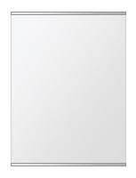 クリスタル ミラー 上下フレーム w450mmxh600mm 長方形 鏡 壁掛け ミラー 壁掛け 日本製 5mm厚 玄関 リビング 寝室 トイレ 取付金具と説明書 壁に直付け 壁掛けミラー ウオールミラー 姿見 全身 おしゃれ 軽量 角型 四角 四角形