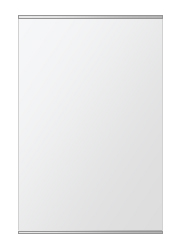 クリスタル ミラー 上下フレーム w500mmxh750mm 長方形 鏡 壁掛け ミラー 壁掛け 日本製 5mm厚 玄関 リビング 寝室 トイレ 取付金具と説明書 壁に直付け 壁掛けミラー ウオールミラー 姿見 全身 おしゃれ 軽量 角型 四角 四角形