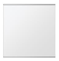 飛散防止加工 鏡 ミラー 安心 安全 クリスタルミラー シリーズ:b-cm-h-s-2f-w600mmxh600mm-HS(長方形 正方形)(クリアーミラー 上下2方フレームタイプ)日本製 アイビーオリジナル洗面 浴室 風呂 トイレ 水廻り 壁掛け 姿見 鏡 専用取付金具付き