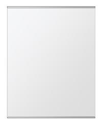 飛散防止加工 鏡 ミラー 安心 安全 クリスタルミラー シリーズ:b-cm-h-s-2f-w608mmxh760mm-HS(長方形 正方形)(クリアーミラー 上下2方フレームタイプ)日本製 アイビーオリジナル洗面 浴室 風呂 トイレ 水廻り 壁掛け 姿見 鏡 専用取付金具付き