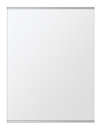 飛散防止加工 鏡 ミラー 安心 安全 クリスタルミラー シリーズ:b-cm-h-s-2f-w608mmxh811mm-HS(長方形 正方形)(クリアーミラー 上下2方フレームタイプ)日本製 アイビーオリジナル洗面 浴室 風呂 トイレ 水廻り 壁掛け 姿見 鏡 専用取付金具付き