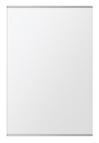 飛散防止加工 鏡 ミラー 安心 安全 クリスタルミラー シリーズ:b-cm-h-s-2f-w608mmxh912mm-HS(長方形 正方形)(クリアーミラー 上下2方フレームタイプ)日本製 アイビーオリジナル洗面 浴室 風呂 トイレ 水廻り 壁掛け 姿見 鏡 専用取付金具付き