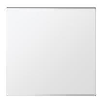 飛散防止加工 鏡 ミラー 安心 安全 クリスタルミラー シリーズ:b-cm-h-s-2f-w650mmxh650mm-HS(長方形 正方形)(クリアーミラー 上下2方フレームタイプ)日本製 アイビーオリジナル洗面 浴室 風呂 トイレ 水廻り 壁掛け 姿見 鏡 専用取付金具付き