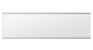 飛散防止加工 鏡 ミラー 安心 安全 クリスタルミラー シリーズ:b-cm-h-s-2f-w1000mmxh284mm-HS(長方形 正方形)(クリアーミラー 上下2方フレームタイプ)日本製 アイビーオリジナル洗面 浴室 風呂 トイレ 水廻り 壁掛け 姿見 鏡 専用取付金具付き