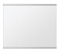 飛散防止加工 鏡 ミラー 安心 安全 クリスタルミラー シリーズ:b-cm-h-s-2f-w500mmxh400mm-HS(長方形 正方形)(クリアーミラー 上下2方フレームタイプ)日本製 アイビーオリジナル洗面 浴室 風呂 トイレ 水廻り 壁掛け 姿見 鏡 専用取付金具付き