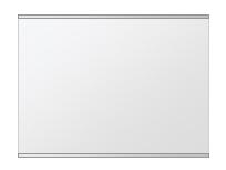 クリスタル ミラー 上下フレーム 洗面鏡 浴室鏡 w600mmxh450mm 長方形 鏡 壁掛け ミラー 日本製 5mm厚 取付金具と説明書 壁掛け鏡 ウオールミラー 防湿鏡 姿見 全身 おしゃれ 軽量 角型 四角 四角形 洗面台 防湿 お風呂