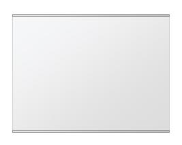 飛散防止加工 鏡 ミラー 安心 安全 クリスタルミラー シリーズ:b-cm-h-s-2f-w811mmxh608mm-HS(長方形 正方形)(クリアーミラー 上下2方フレームタイプ)日本製 アイビーオリジナル洗面 浴室 風呂 トイレ 水廻り 壁掛け 姿見 鏡 専用取付金具付き