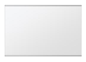鏡 ミラー 壁掛け鏡 ウォールミラー ステンフレーム シリーズ(一般空間用):i-cm-h-s-2f-w912mmxh608mm(四角形)(クリアーミラー 上下2方フレームタイプ)( 壁掛け 姿見 ステンレス フレームミラー )
