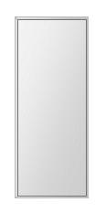 飛散防止加工 鏡 ミラー 安心 安全 ステンフレーム シリーズ(一般空間用):i-cm-h-s-4f-284mmx700mm-HS(四角形)(クリアーミラー 4方フレームタイプ)日本製 アイビーオリジナル 壁掛け鏡 ウォールミラー 姿見 鏡