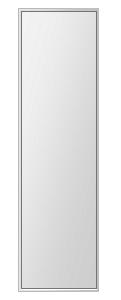クリスタル ミラー 上下左右フレーム 洗面鏡 浴室鏡 250x1000mm 長方形 鏡 壁掛け ミラー 日本製 5mm厚 取付金具と説明書 壁掛け鏡 ウオールミラー 防湿鏡 姿見 全身 おしゃれ 軽量 角型 四角 四角形 洗面台 防湿 お風呂