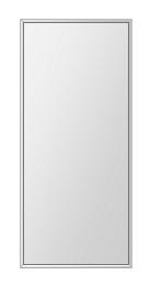 飛散防止加工 鏡 ミラー 安心 安全 ステンフレーム シリーズ:b-cm-h-s-4f-360mmx800mm-HS(四角形)(クリアーミラー 4方フレームタイプ)日本製 アイビーオリジナル洗面 浴室 風呂 トイレ 水廻り 壁掛け 姿見 鏡 専用取付金具付き