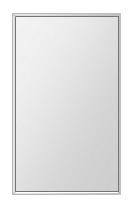飛散防止加工 鏡 ミラー 安心 安全 ステンフレーム シリーズ:b-cm-h-s-4f-380mmx640mm-HS(四角形)(クリアーミラー 4方フレームタイプ)日本製 アイビーオリジナル洗面 浴室 風呂 トイレ 水廻り 壁掛け 姿見 鏡 専用取付金具付き